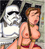 XXX ILLUSTRATIONS OF LEIA FROM STAR WARS