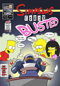 Gundam888 - Simpsons Comix Busted