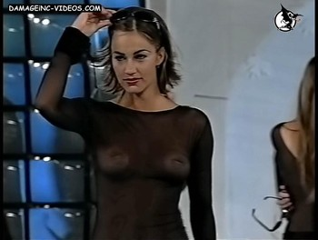 Ingrid Grudke hard nipples see through video