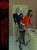 TG Comics - Captain Blue - Beggars Can't Be Choosers