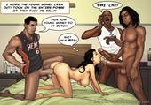 misc - New Comics About Interracial Sex