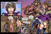 SUPERHEROINECOMIXXX - Alien Orgy Farm 1-2 (Complete)