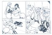 Superheroinecomixxx - What the Supergirls Like Most 1-2 (Part 1 color part 2 WB)
