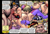 Superheroinecomixxx - What the Supergirls Like Most 1-2 (Part 1 color part 2 WB)