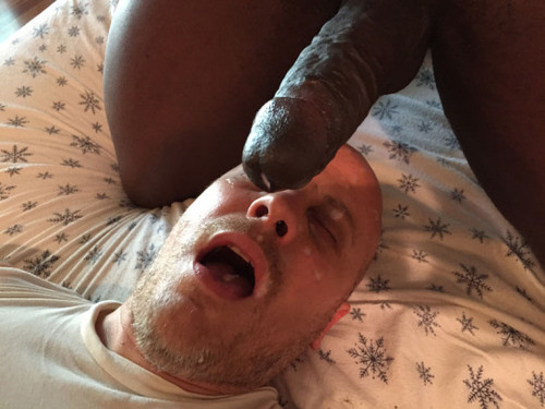 white man black cock