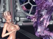 DIZZYDILLS - Sasha - ToQA and Violet Creature