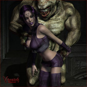 Vaesark 2008-2015 - 2009 CG 020 (T) - Violet meets a new demon