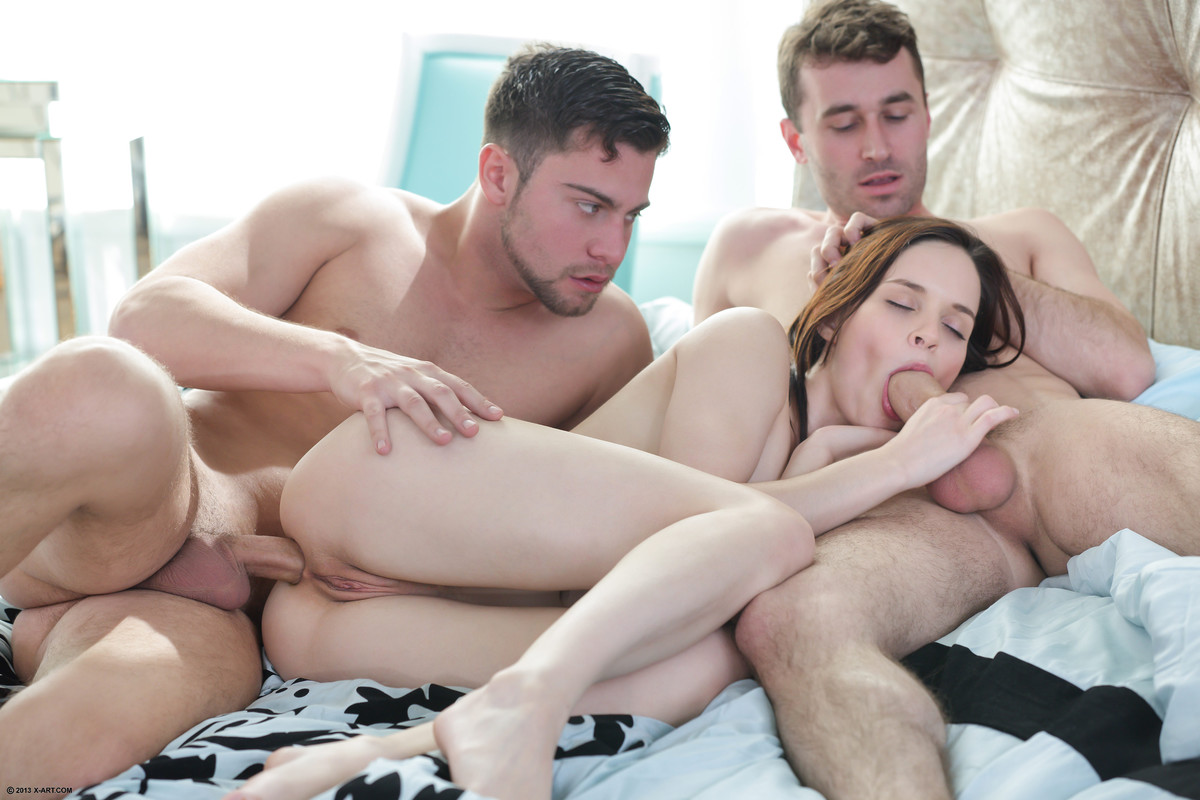 Threesome girlfriend with my best friend