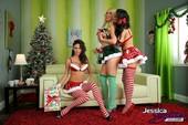 Amy Anderssen & Jessica Jaymes & Nikki Benz - 3 Elfs