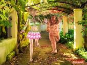 Monster Fucking Cute Girls - Garden Path 3d